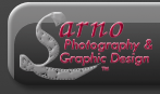 Sarno Photography & Graphic Design Logo